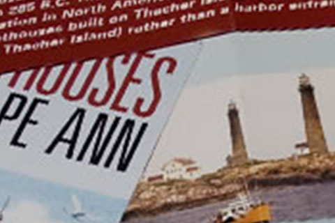 Cape Ann Chamber Lighthouse Brochure